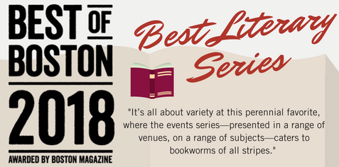 Best Literary Series 2018 - Boston Magazine