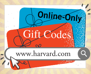 Online-Only Gift Codes