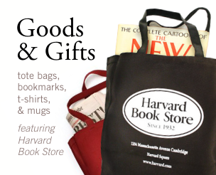 Goods & Gifts from Harvard Book Store: Mugs, Tote Bags, and More!