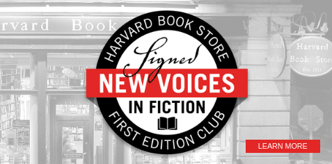 Signed New Voices in Fiction First Edition Club